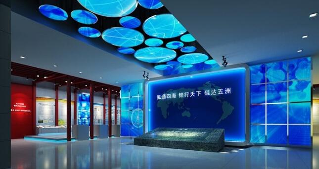 多媒体展厅设计效果图