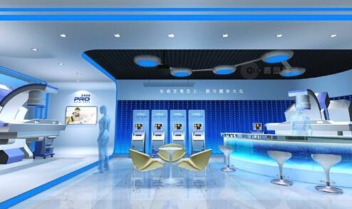 展厅设计中展示照明的效果控制