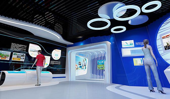 数字展厅设计效果图