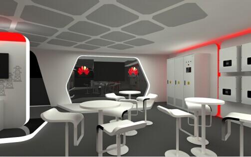 展厅设计公司之企业展厅设计休息区