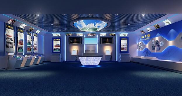 企业展厅设计制作是艺术的升华