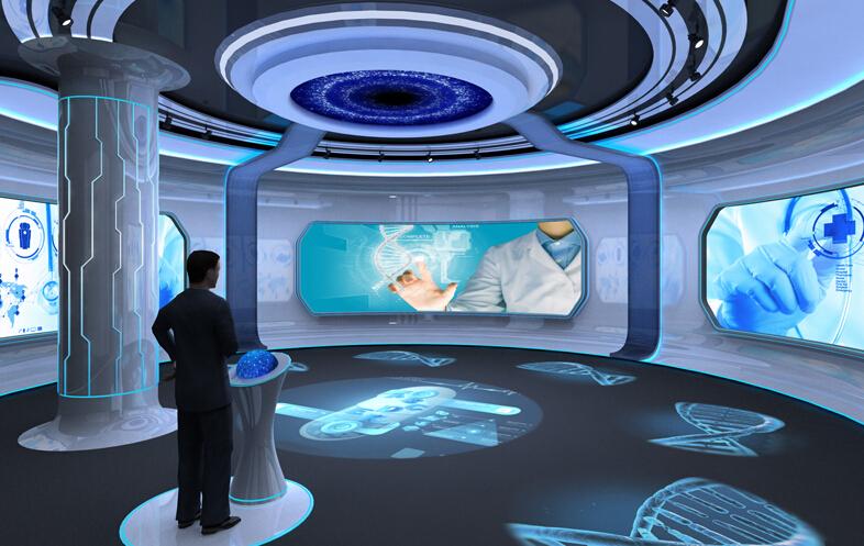 数字展厅设计中如何利用计算机辅助设计